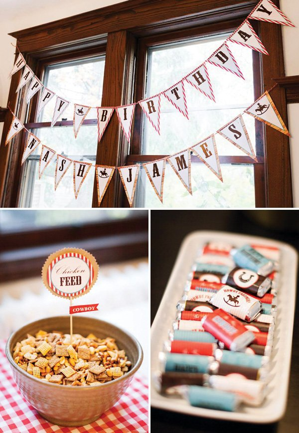 country cowboy party printables