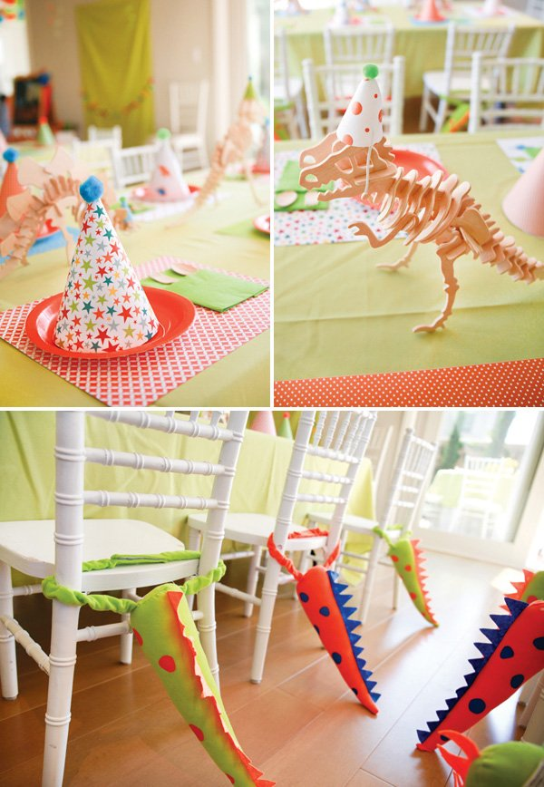dinosaur birthday partyd ecoration ideas