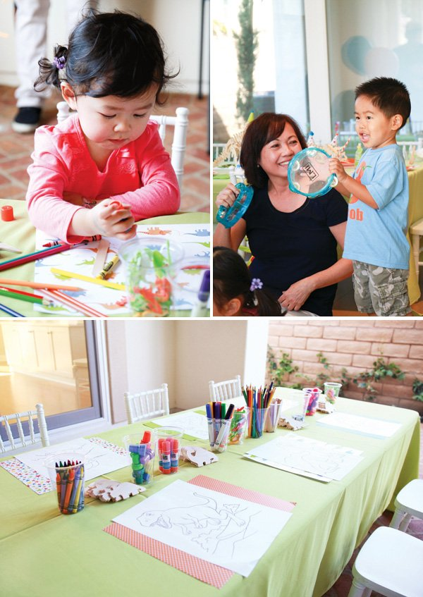 dinosaur birthday party activities and games