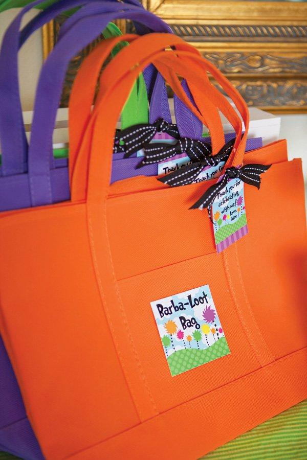 dr. seuss party favor bags