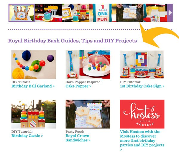 Fisher-Price Royal First Birthday Guide