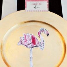 printable flamingo party silhouettes