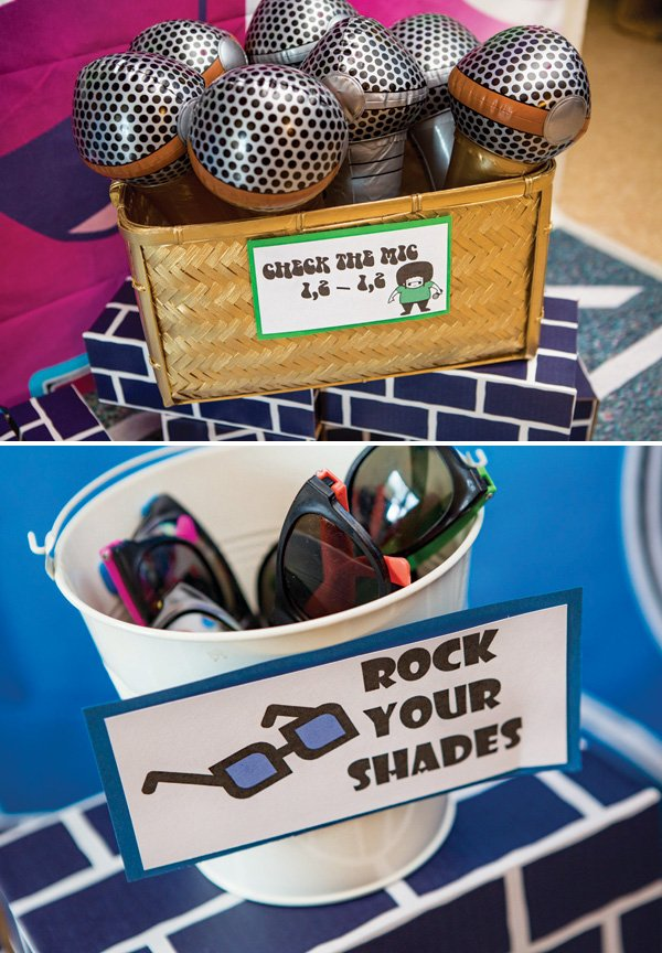 hip hop party photo booth props