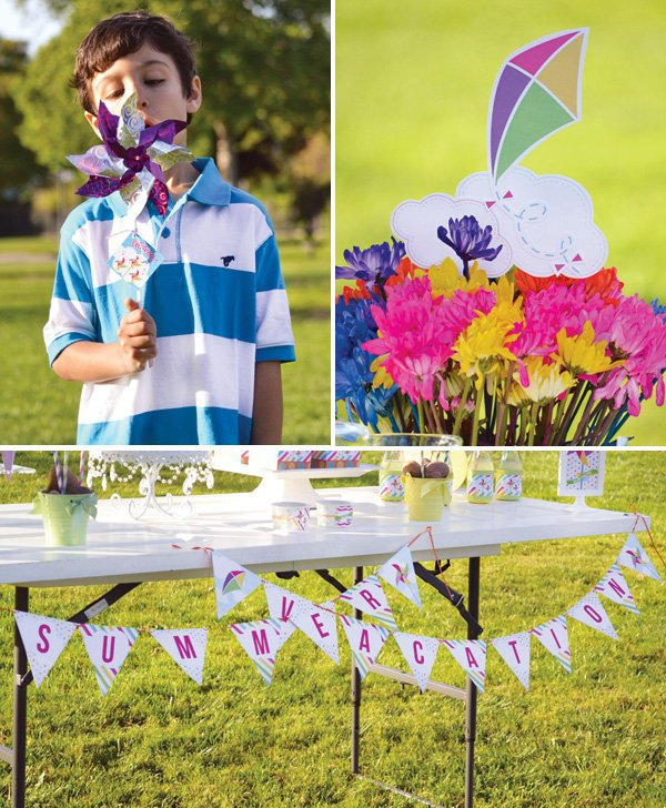 kids summer vacation party ideas