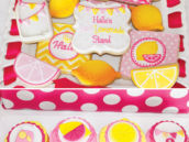 lemonade cookies and cupcakes