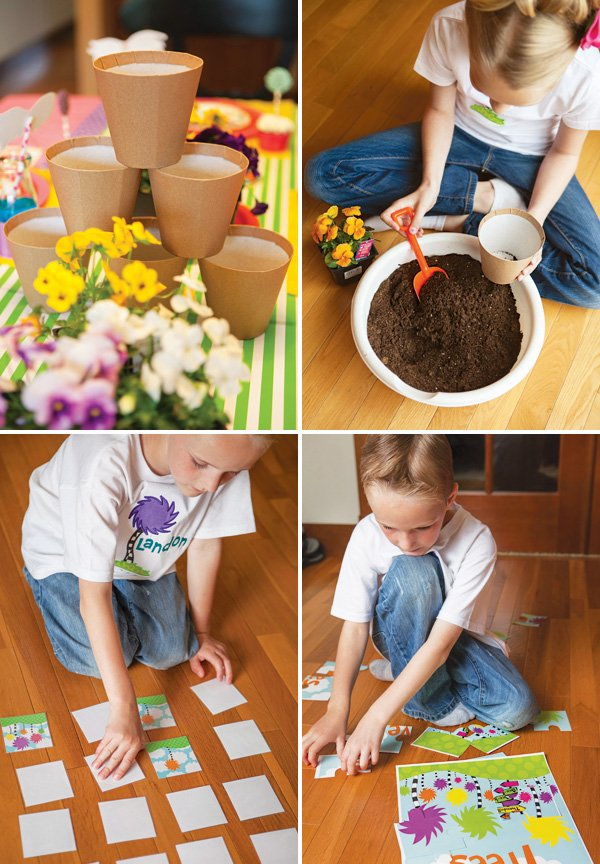 the lorax party activities and games