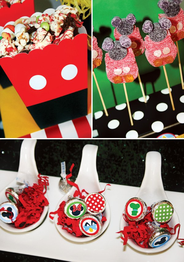 mickey mouse party dessert ideas