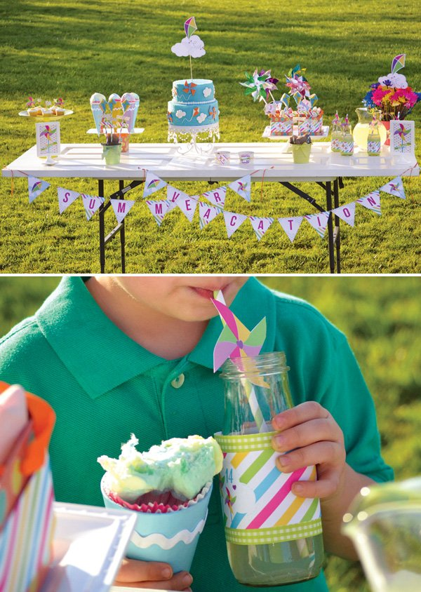 outdoor summer party for kids