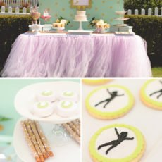 peter pan neverland dessert table