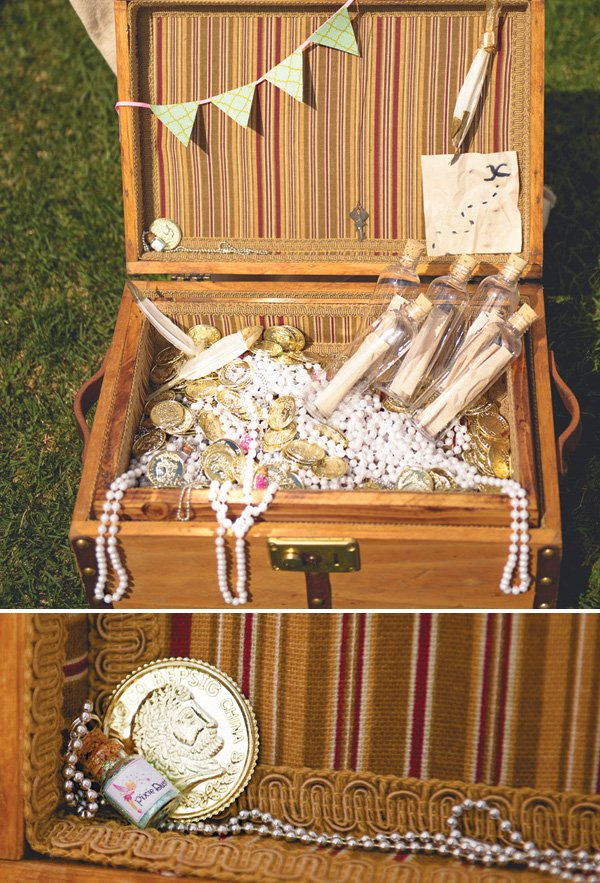 peter pan party treasure chest favors