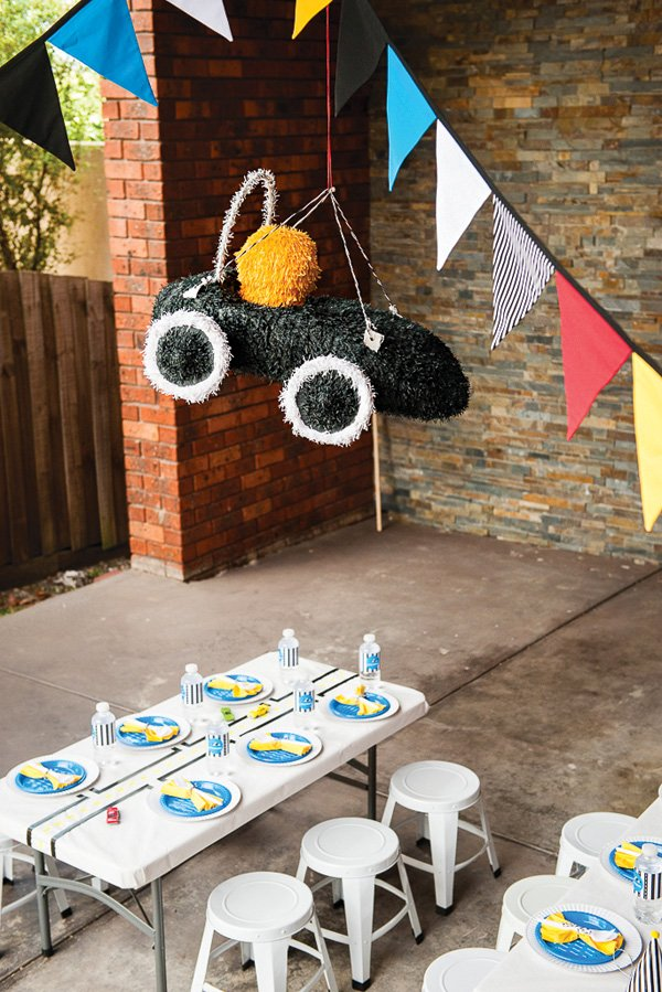 race car party piñata