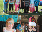 rainbow birthday party activities