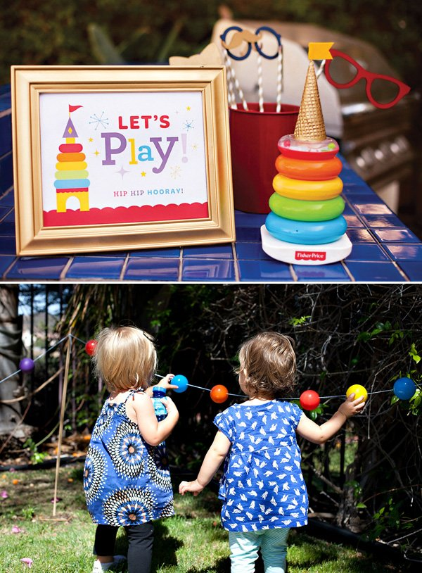 Royal First Birthday Party Activities and Sign
