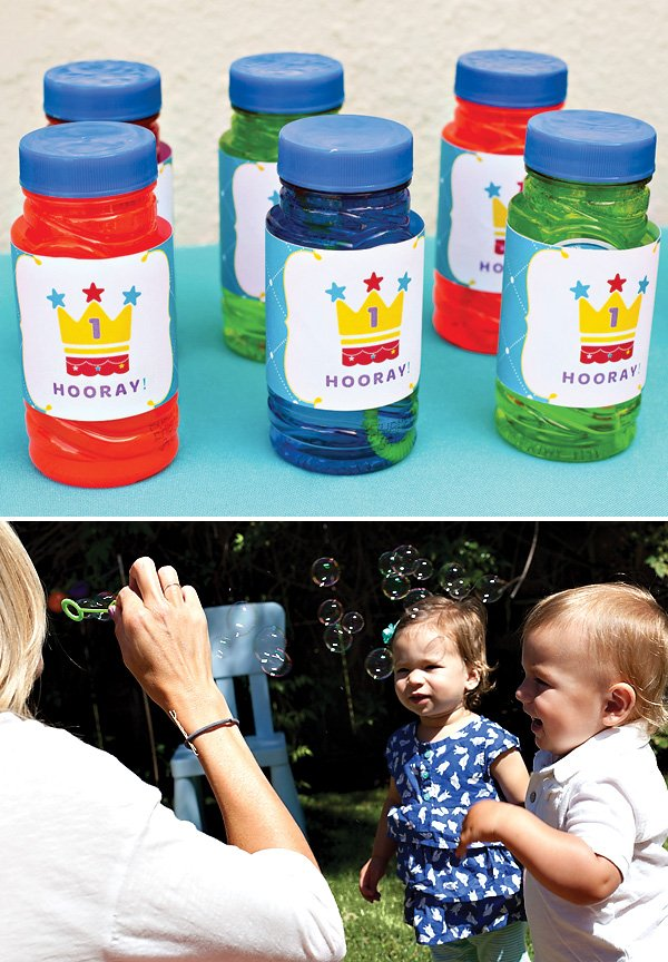 Royal First Birthday Bubble Wraps