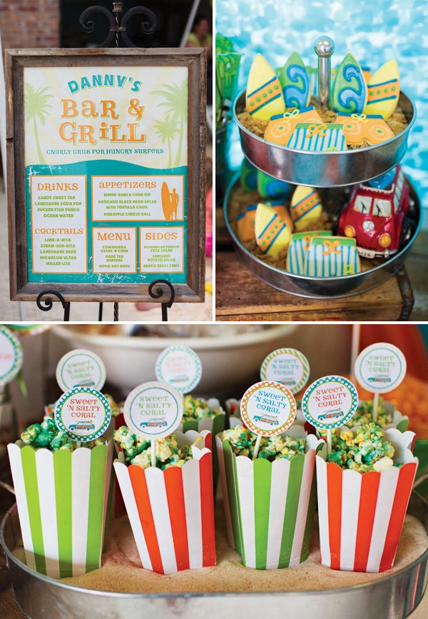 summer party snack and dessert ideas