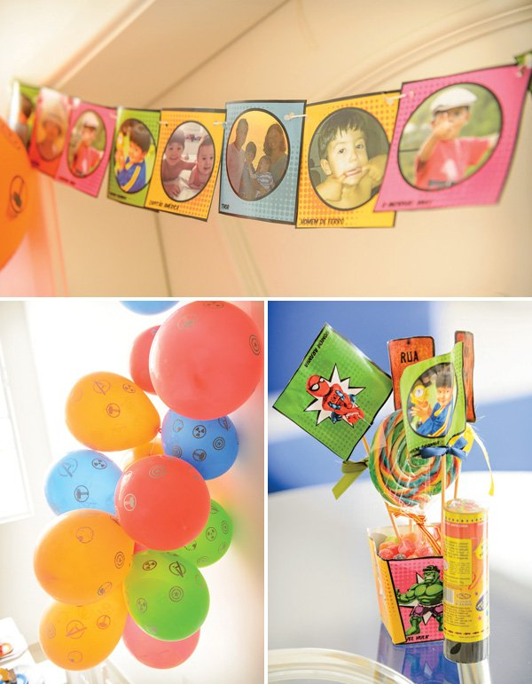 superhero party decoration ideas