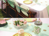 tinkerbell party tablescape