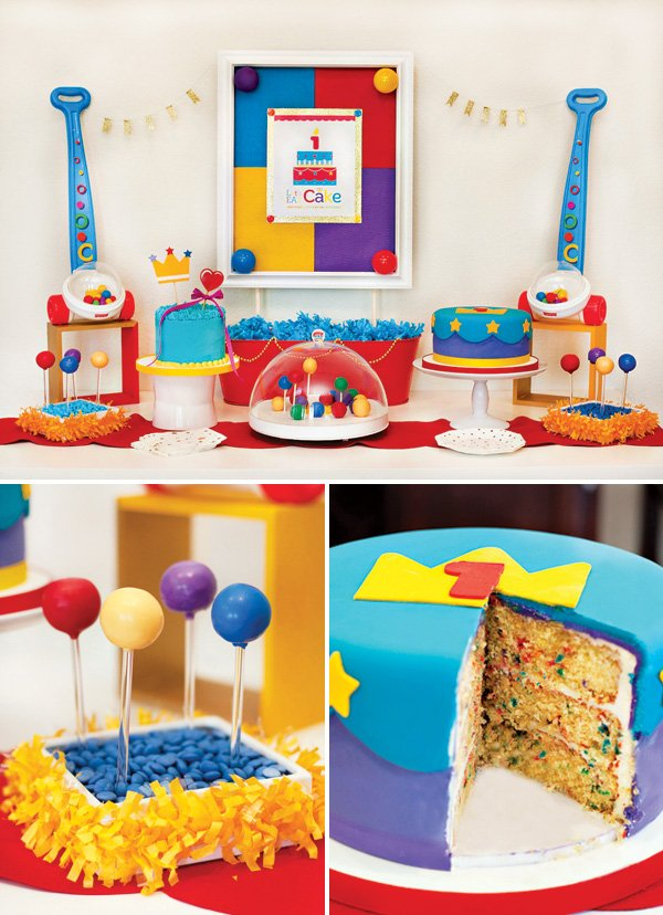 Toy Inspired Birthday Party Dessert Table