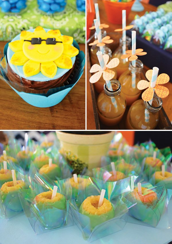 tropical sunshine desserts