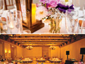 wooden lantern wedding centerpieces