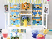 country fresh cupboard bridal shower