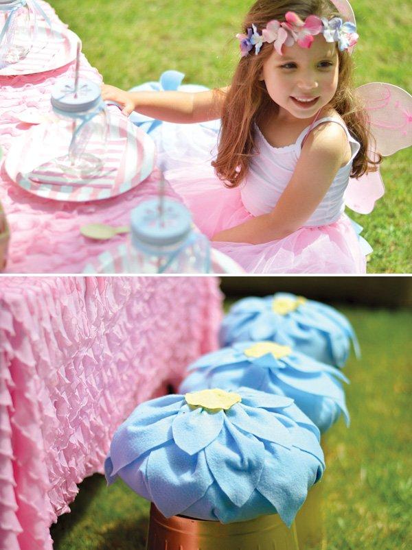 DIY flower seat covers
