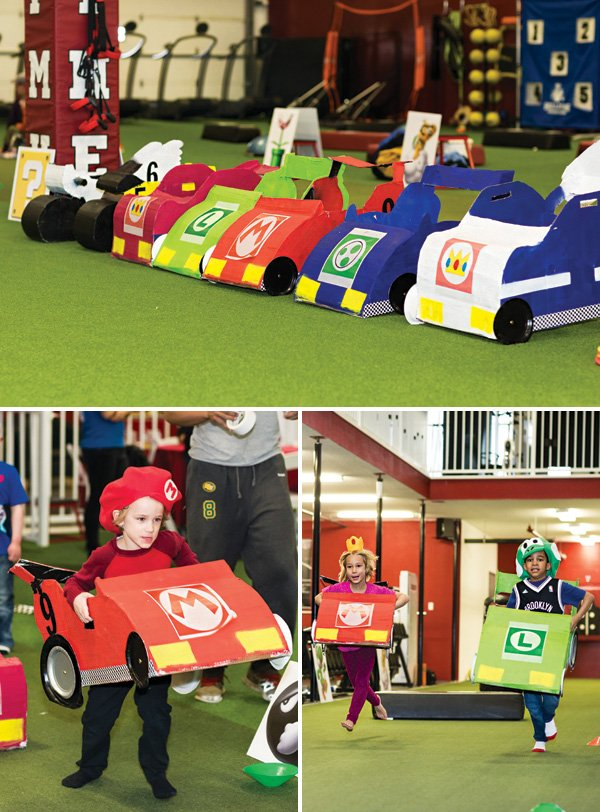 DIY mario kart race cars