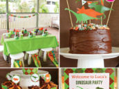 dino-mite dinosaur birthday party