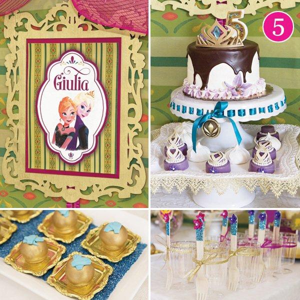 frozen coronation ball birthday party