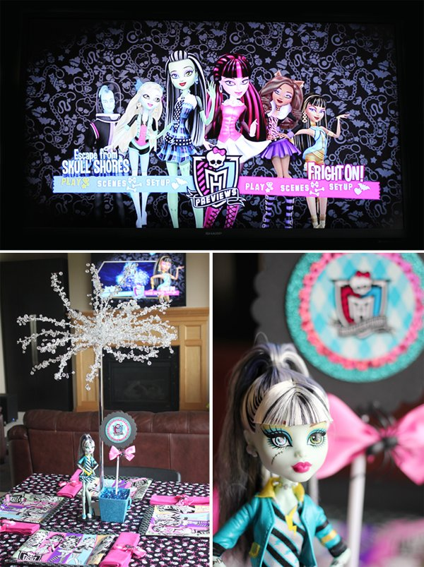 Monster High Dining Table