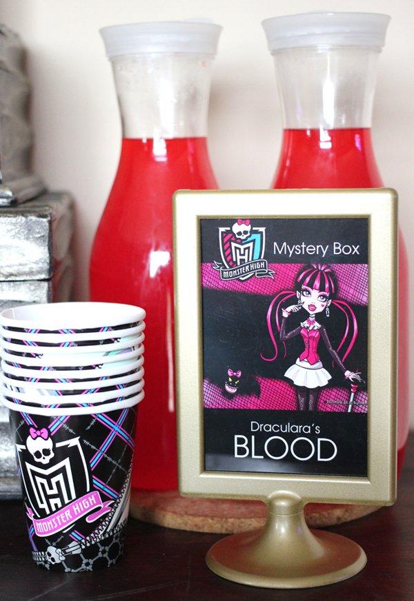 Monster High Drinks