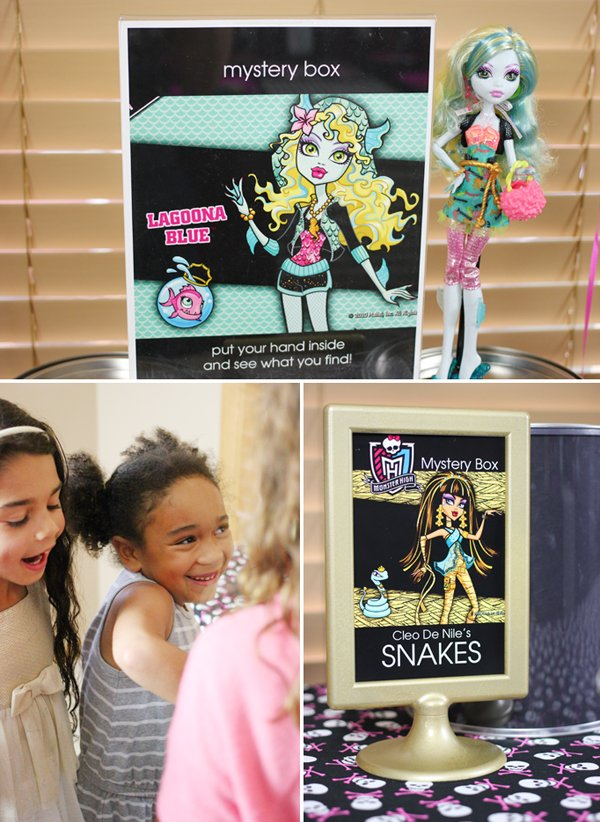 Monster High Party Games