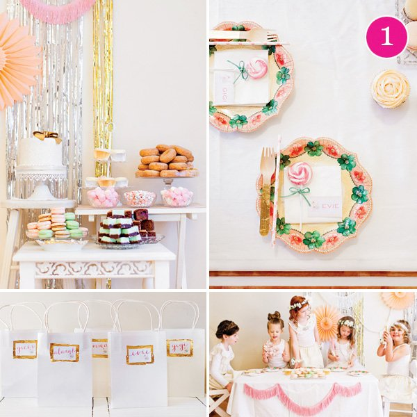 Floral Pretty Little Birthday Party
