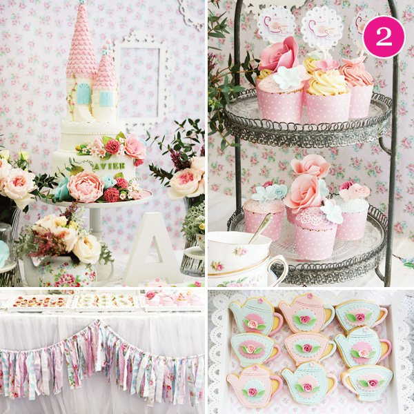 princess garden tea party