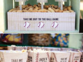 vintage baseball party snack ideas