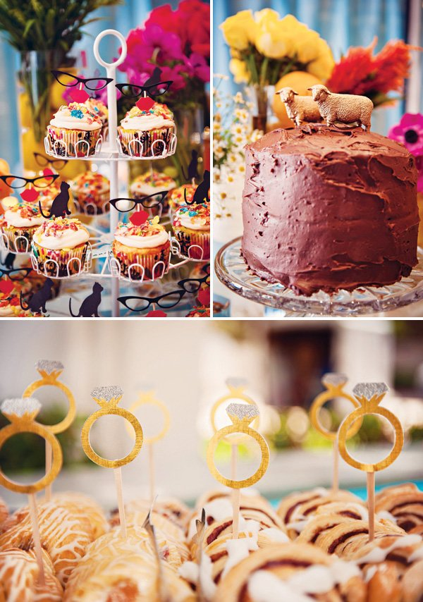 bridal shower dessert ideas