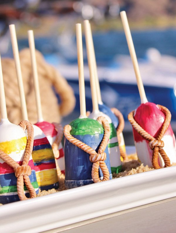 buoy cake pops