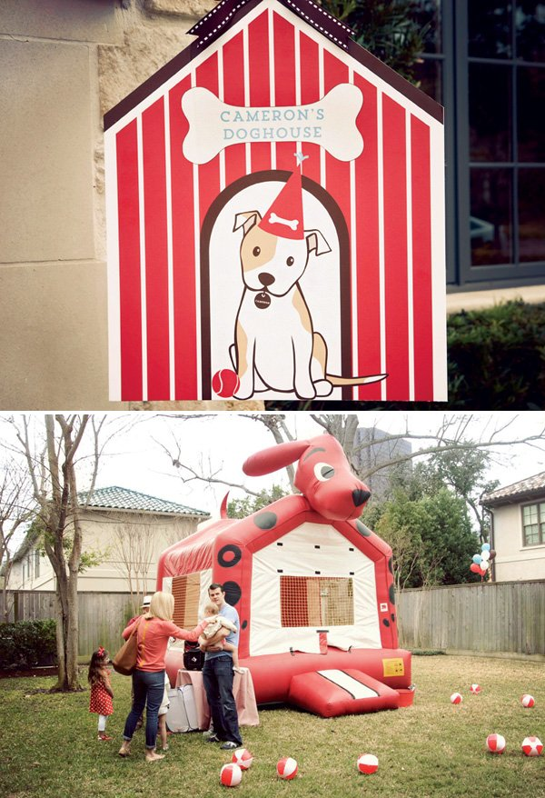 clifford the big red dog bounce house