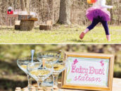 birthday party fairy dust station activity
