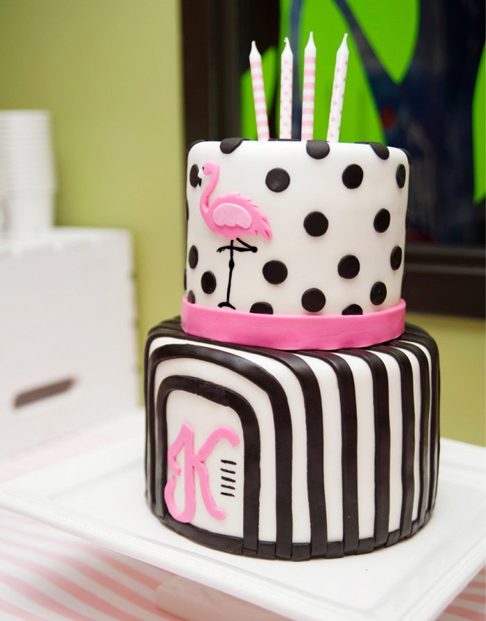 Birthday Cake Flamingo