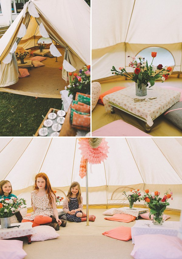 Garden Festival Glamping Birthday Party Hostess With