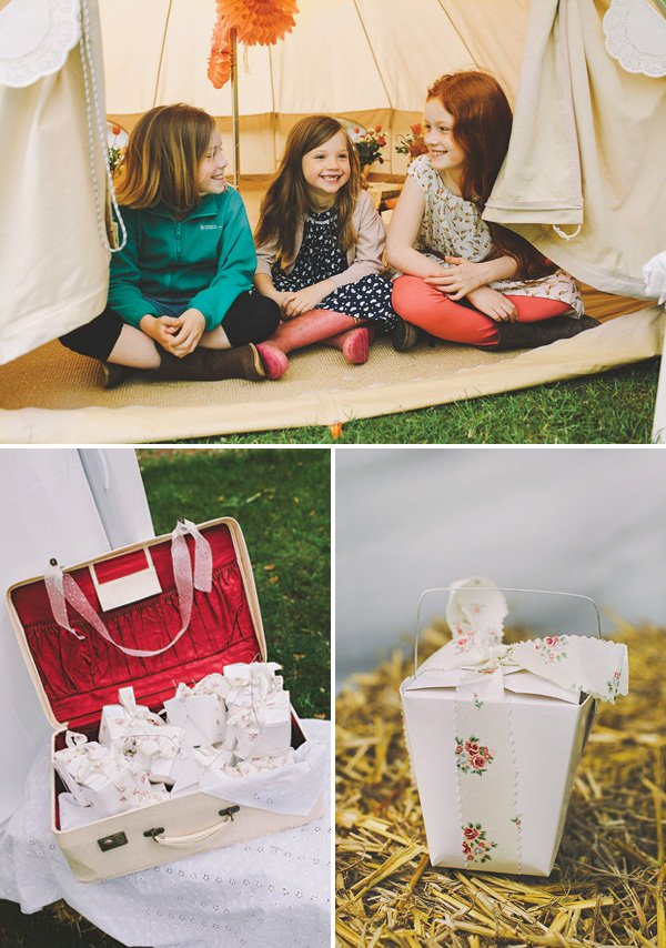 glamping birthday party favors