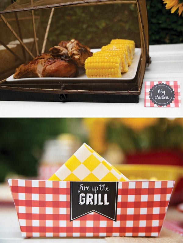 grilling party food ideas