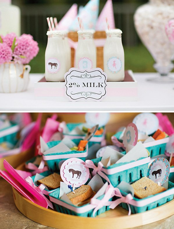 horse birthday party snack ideas