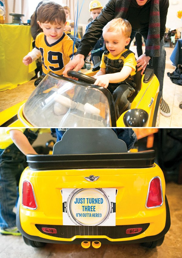 kids mini cooper car