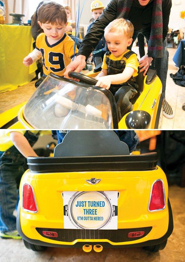 kids mini cooper car