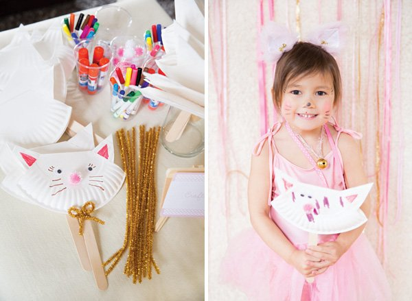 simple kitty cat party craft