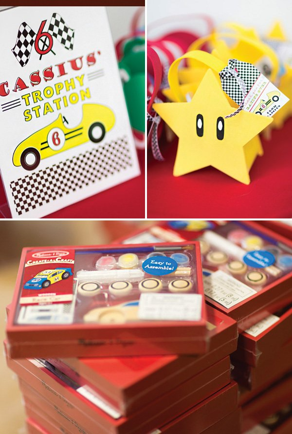 mario birthday party favors