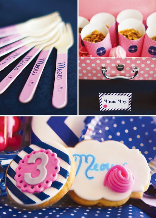 meow themed party food ideas