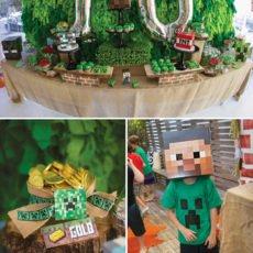 minecraft birthday party ideas